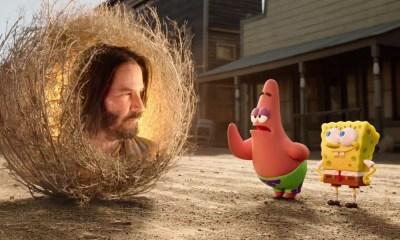 Keanu Reeves en Sponge On The Run'