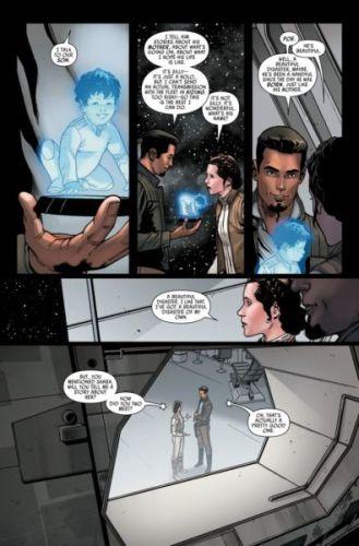 ¿Ya se conocían? Nueva historia revela la conexión entre Leia y Poe star-wars-12-preview-page-3-329x500