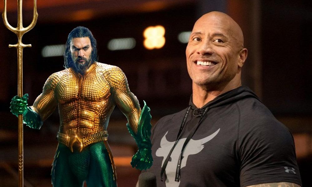 Aquaman felicitó a la hija de The Rock