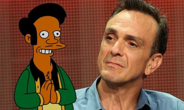 Hank Azaria se disculpó por interpretar a Apu