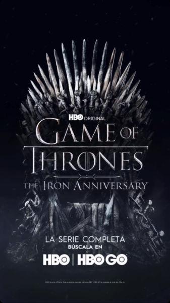 HBO revela cómo celebrará el décimo aniversario de 'Game of Thrones' img-8834