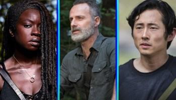 Rick Grimes en la temporada final de 'The Walking Dead'