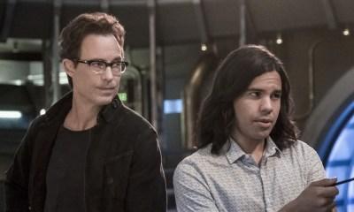 Reemplazos de Harrison Wells y Cisco en Flash