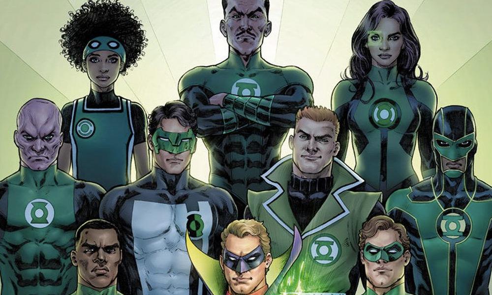 Green Lanterns en la serie de HBO Max