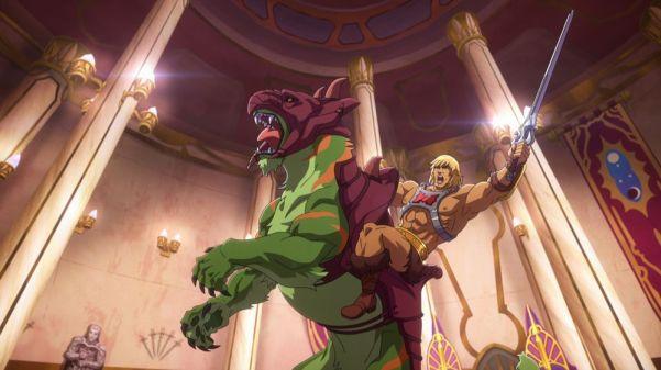 ¡Por el poder de Grayskull! Publican las primeras imágenes de 'Masters of the Universe: Revelation' he-man-02
