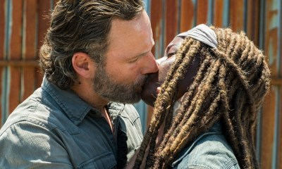 importancia del romance entre Michonne y Rick Grimes