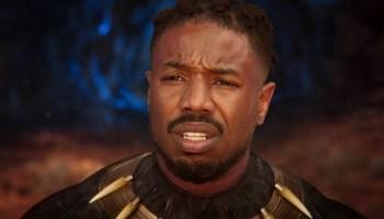 Michael B Jordan reacciona a 'Black Panther Wakanda Forever'