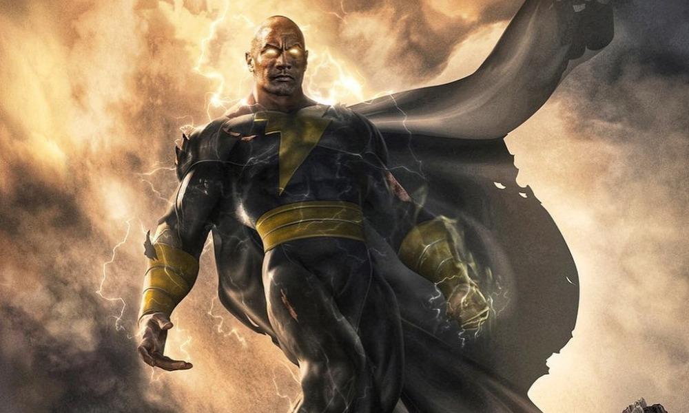 primer vistazo del traje de Black Adam