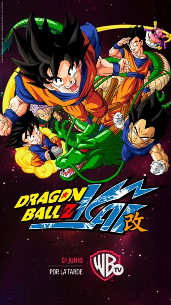 fecha de estreno de 'Dragon Ball Z Kai' en Warner Channel