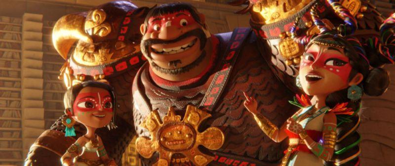Netflix comparte primeras imágenes de 'Maya y los Tres' 02100100-v002-bt188600114185
