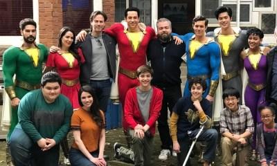 familia Shazam tendrá nuevos trajes