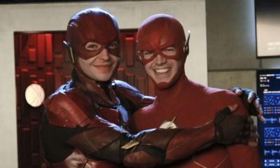 Grant Gustin aparecería en The Flash
