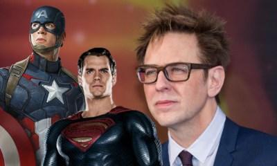 James Gunn habló del crossover de Marvel y DC