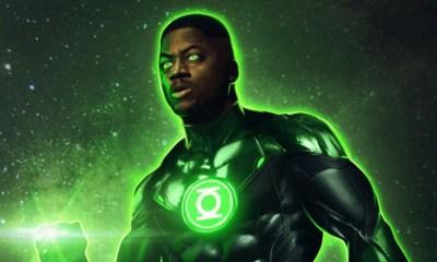 llegada de Green Lantern a Zack Snyders Justice League