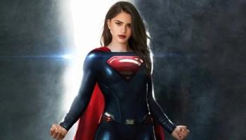 primeras fotos de Sasha Calle como 'Supergirl'