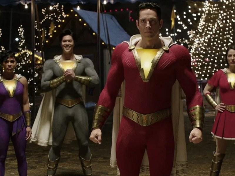 Nuevos trajes de Shazam: Fury of the Gods