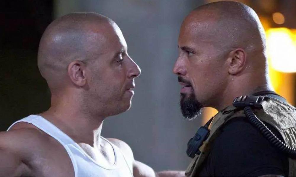 Vin Diesel habló de su pelea con Dwayne Johnson