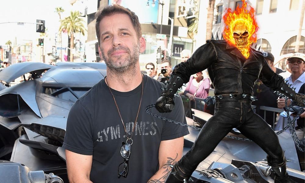 Se une al MCU? Zack Snyder responde si dirigirá o no el reboot de 'Ghost  Rider'