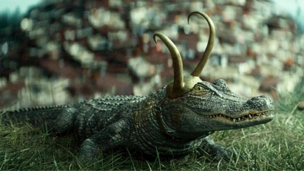 Alligator Loki no está basado en un cómic