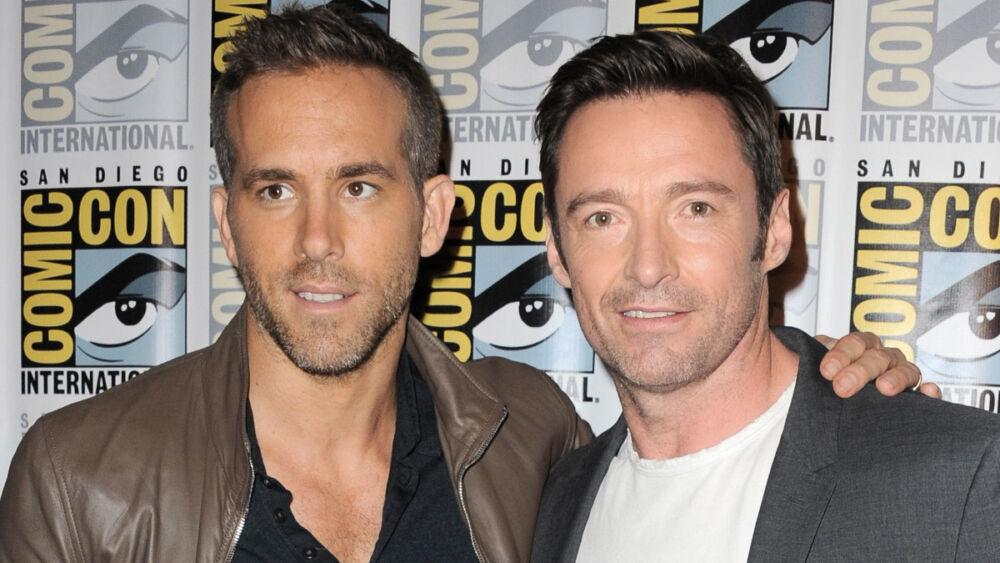¿Celoso? Hugh Jackman reacciona al debut de Ryan Reynolds en Marvel