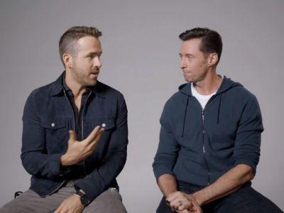 Hugh Jackman con el director de Free Guy