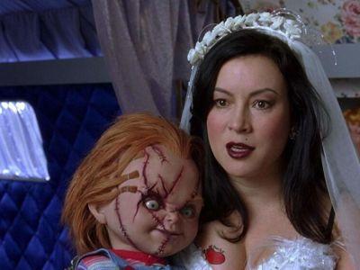 Jennifer Tilly y Chucky