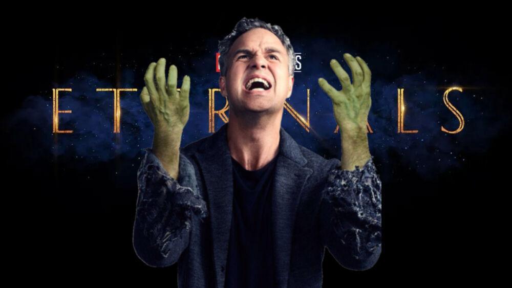 Mark Ruffalo ya reaccionó al nuevo trailer de Eternals
