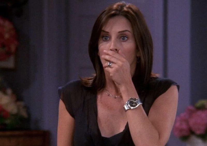 Escena eliminada de Friends sobre Monica
