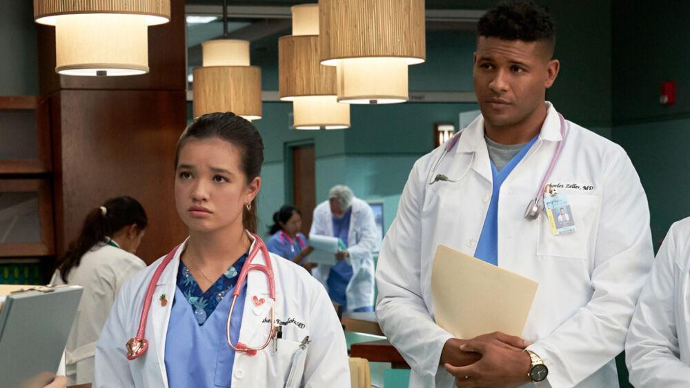 ¡Nueva doctora! Publican primeras fotos del reboot  de 'Doogie Howser'