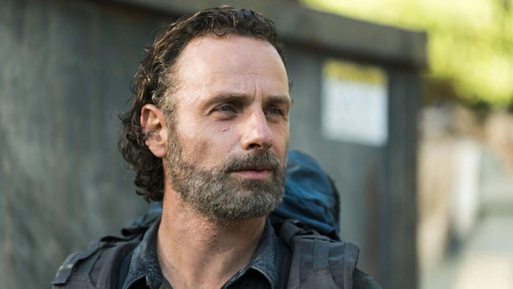 Rick Grimes en la temporada final de The Walking Dead