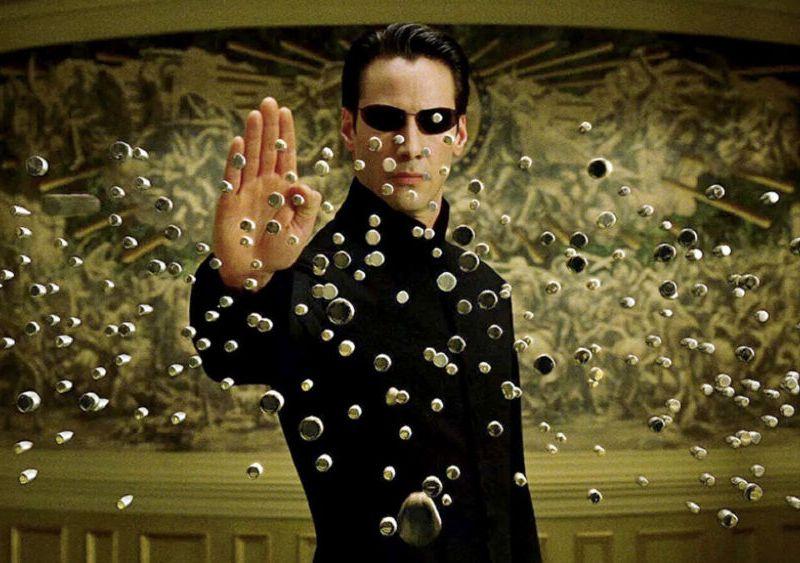 Título oficial de Matrix 4