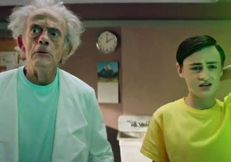Christopher Lloyd habló de 'Rick and Morty'