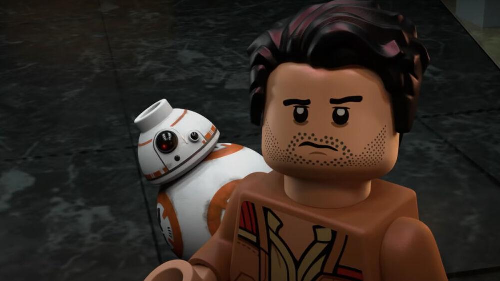 Trailer de Lego Star Wars: Terrifying Tales