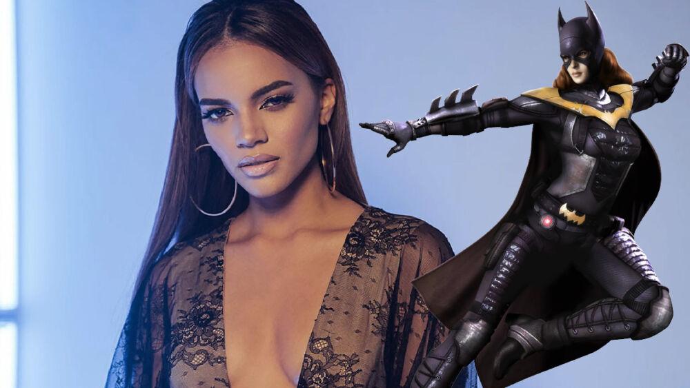 Leslie Grace revela el traje de Batgirl
