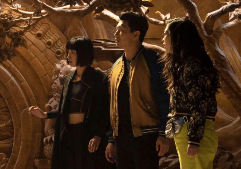 Avengers durante los eventos de Shang-Chi