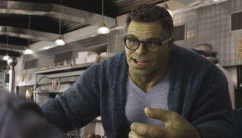 Bruce Banner controla a Hulk
