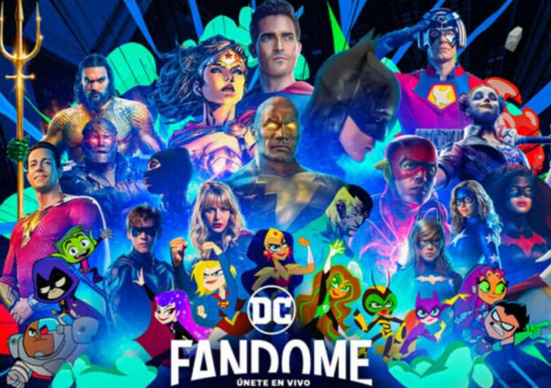 invitados al DC FanDome