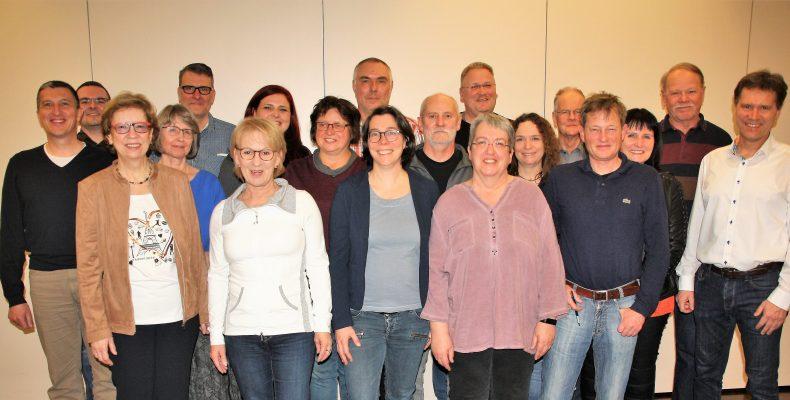 Die Kandidaten der WfO für die Wahl zum Stadtrat Oppenheim.