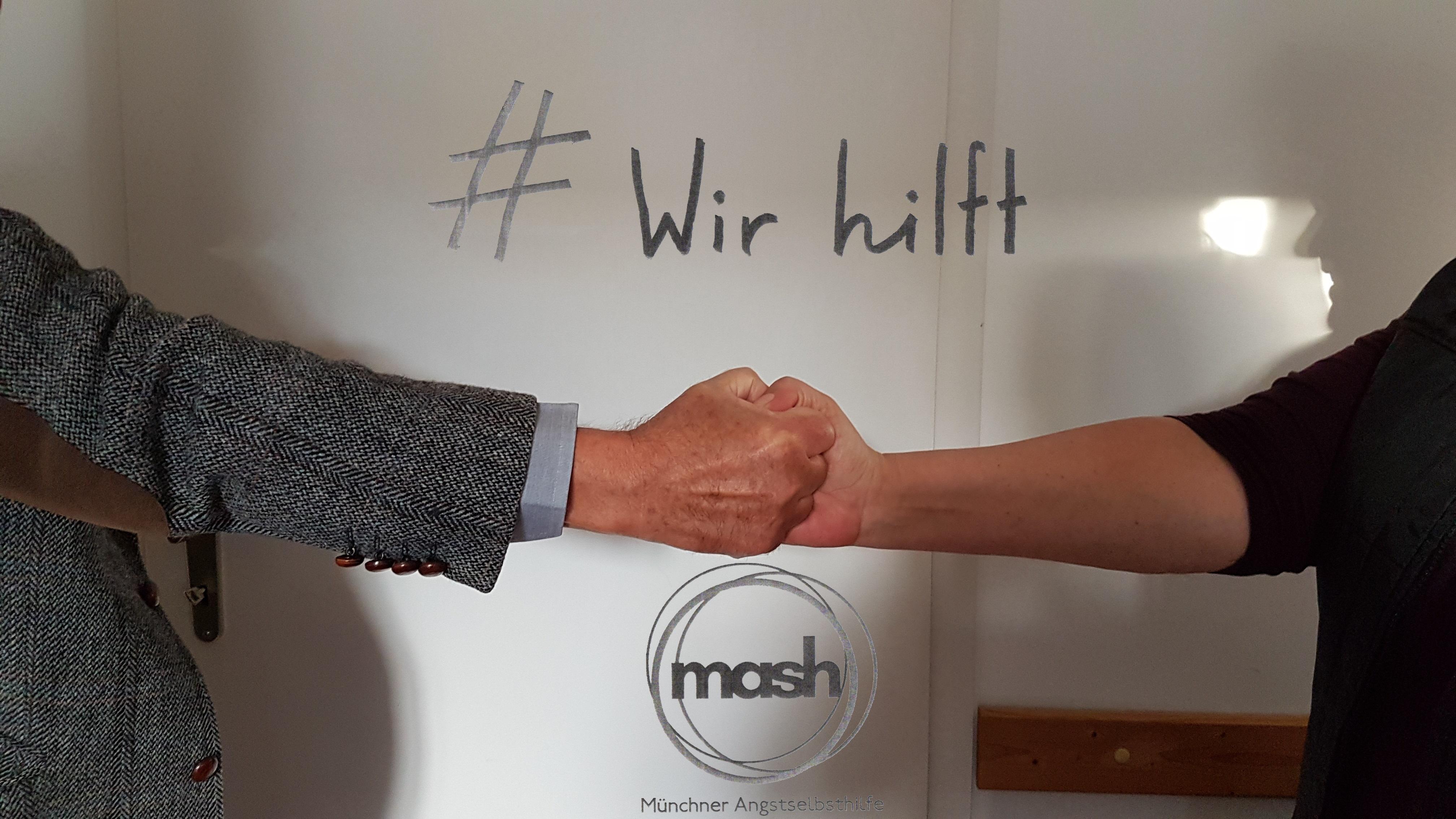 Zusammen gegen die Angst bei MASH | Foto: MASH