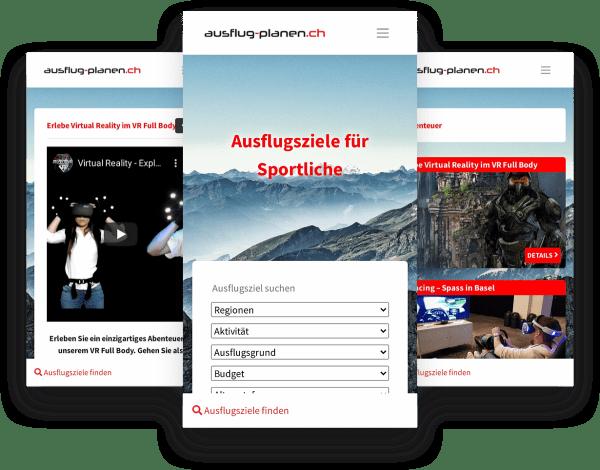 Angebot bei Ausflug-planen.ch präsentieren