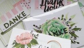 Kartenset Liebes Dankeschön