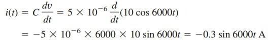 Capacitor Voltage Current Capacitance Formula