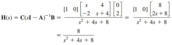 Laplace Transform State Variables