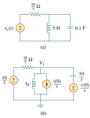 Laplace Transform Circuit Analysis