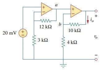 cascaded op amp circuits