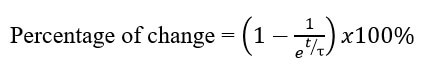 equation for capacitor charging