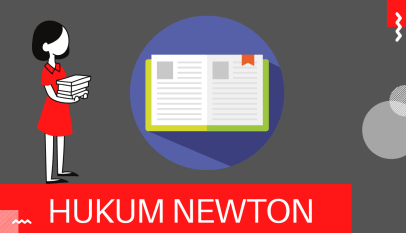 contoh hukum newton