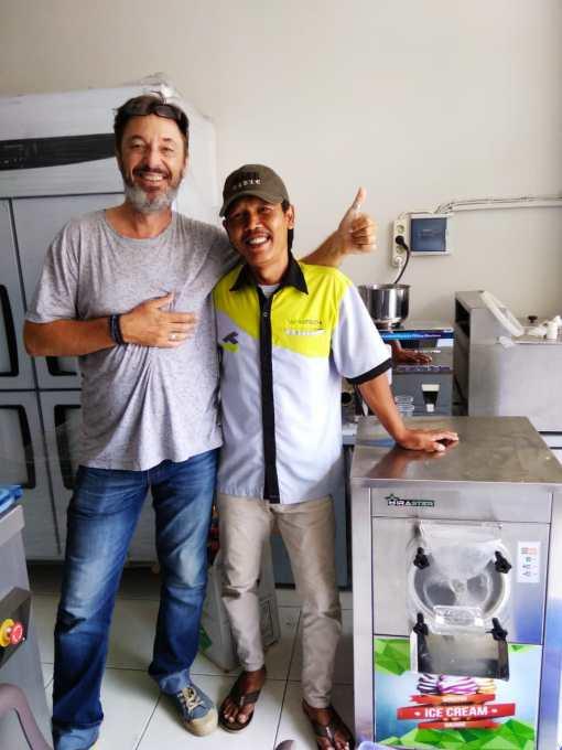 Mondo Gelato - Bali - Hard Ice Cream Machine WIR-128Y - 6 Desember 2019 - DONE