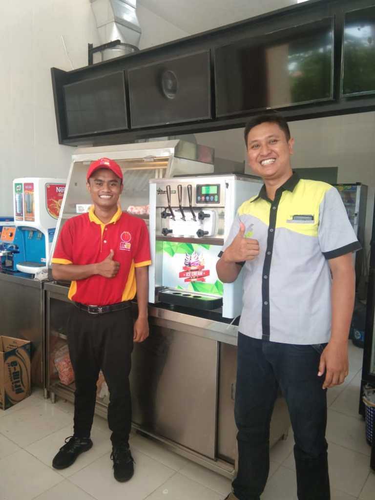 M2M - Bangkalan Madura - Mesin Es Krim WIR-818T - 12 Desember 2019 - DONE