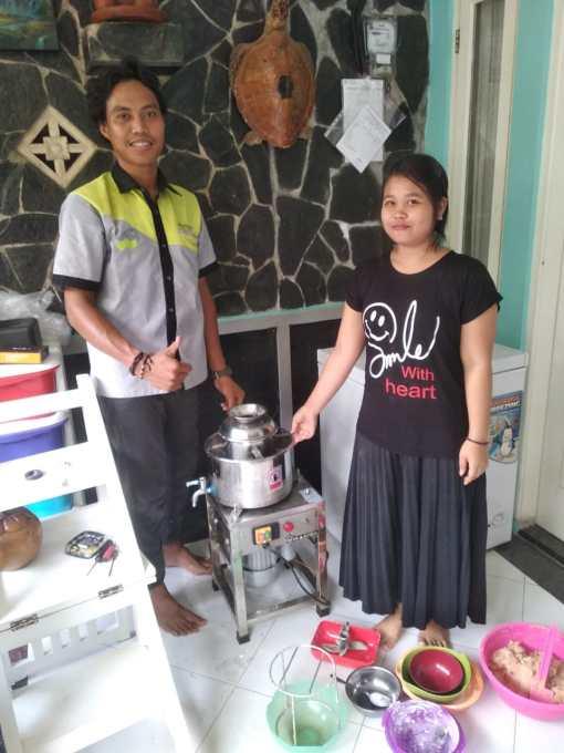 1. Rini Ismi - Bintaro - Meat Mixer R18 - 3 Maret 2020
